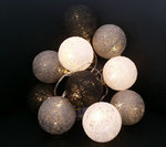 Lichterkette Kugeln 10LED